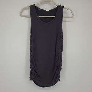4/$25 Fabletics Ruched Side Athletic Tank Top